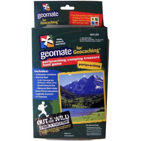 Geomate Outdoor/Camping Scavenger Hunt