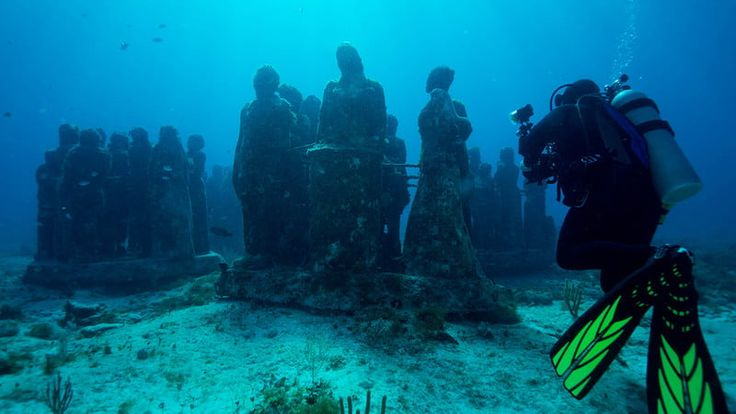 First Underwater Art Museum in the U.S. to Debut in Florida in 2018