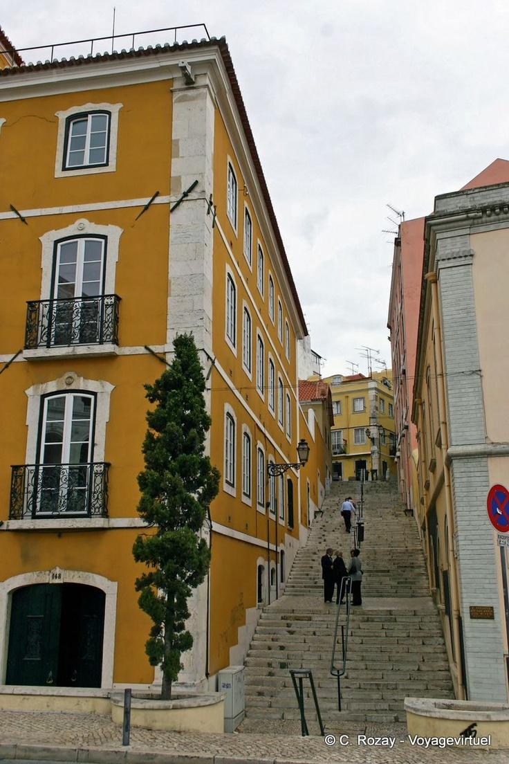 Traditional district Estrela, Lisboa.#Portugal