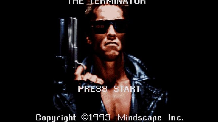The Retro Challenge  The Terminator (SNES) Failed at Playing