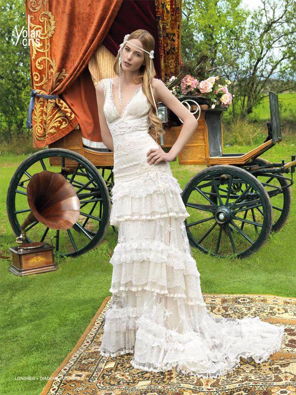 Schönste Hippie Brautkleider | Friedatheres