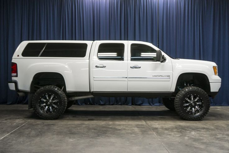 LIFTED 2011 GMC SIERRA 2500 DENALI HD 4X4
