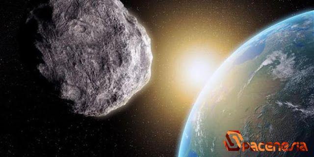 Ilustrasi   SpaceNesia - JikaAsteroid Jatuh Kebumi, Setiap hari Bumi ditabrak batuan dari ruang angkasa. Karena banyak sampah dari beka...