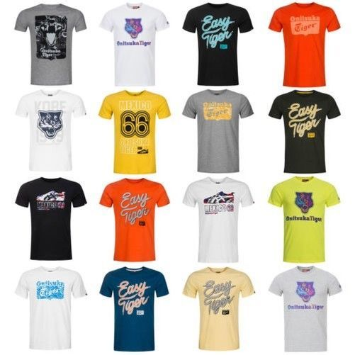 the cheapest numerous in variety entire collection Asics Men's T-Shirt Onitsuka Tiger Leisure T-Shirt Xs S M L ...