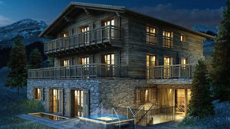 Austrian Alps Ski Holiday Chalet for Rental