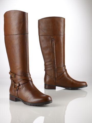 Sonya Vanchetta Riding Boot in Polo Tan- Ralph Lauren...This is the ideal and most perfect riding boot I have found! LOVE IT! And it's on sale right now!