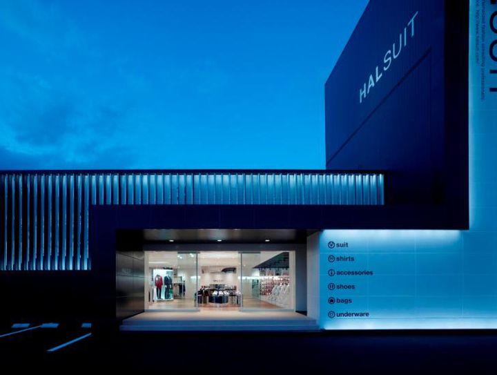 HALSUIT store by Nendo Okayama 16