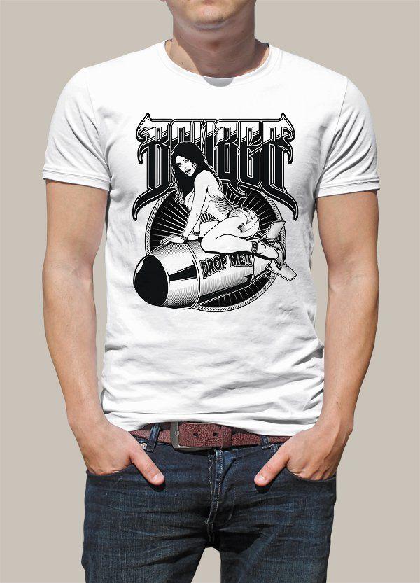 Bomber Drop Me Tshirt - http://goo.gl/kHnHjg