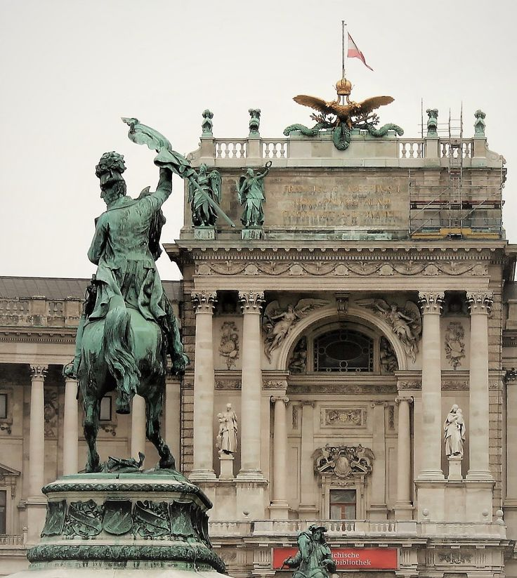 Hofburg Palace, Vienna.