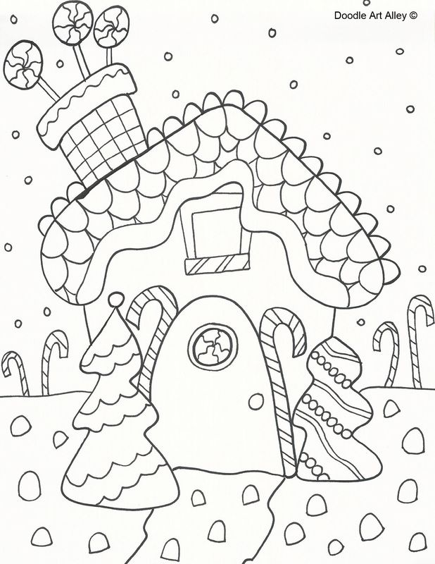 Lots Of Great Christmas Coloring Pages On This Link