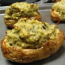 Pommes de terre Ranch farcies @ qc.allrecipes.ca