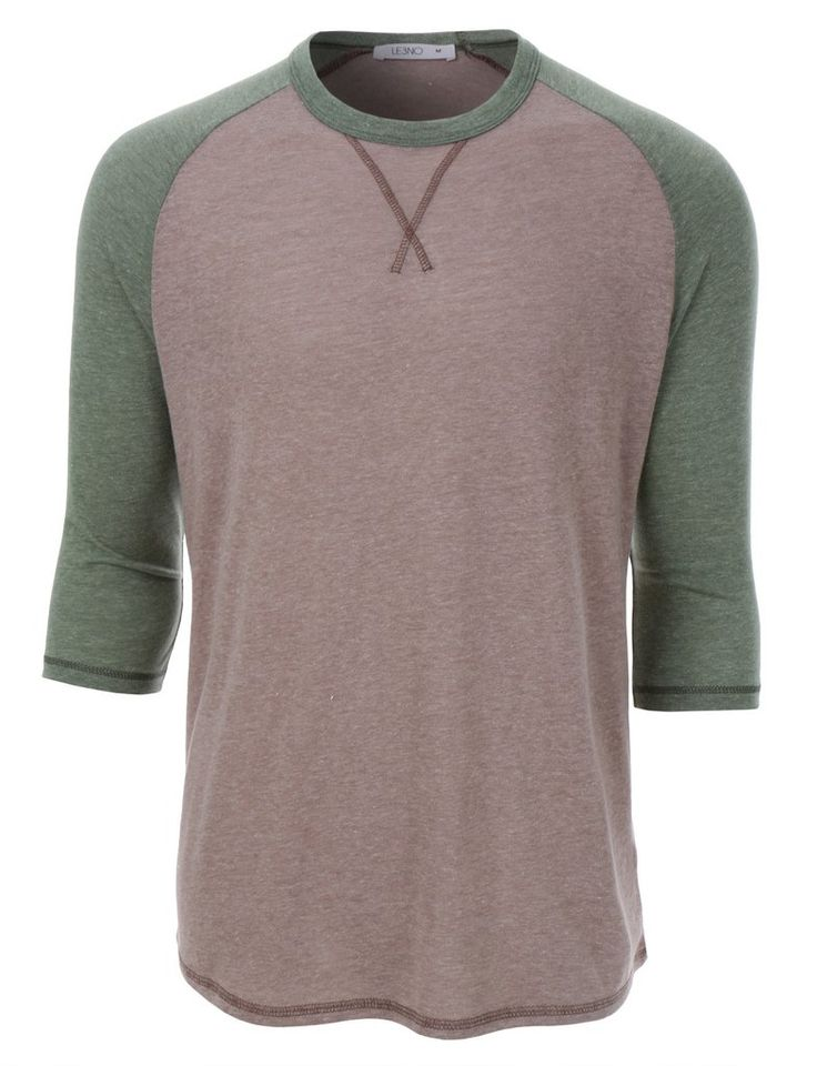 This vintage ultra soft 3/4 raglan sleeve baseball tee is an all-american favorite. This iconic vintage-inspired baseball tee gets a fresh look with stylish new details. Color-blocked three-quarter ra