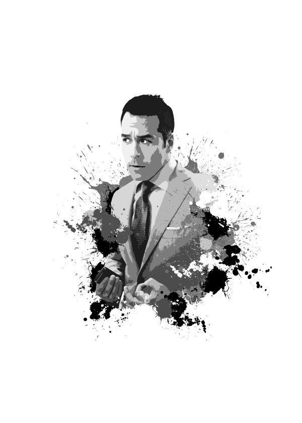 Ari Gold from Entourage  Ari Gold from Entourage Gallery quality print on thick 45cm / 32cm metal plate. Each Displate print verified by the Production Master. Signature and hologram added to the back of each plate for added authenticity & collectors value. Magnetic mounting system included.  EUR 39.00  Meer informatie