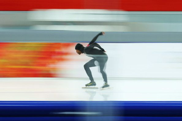 #Sochi2014 #TeamUSA's Shani Davis - Winter Olympics: Men's Speed Skating 1500 m. 2/15/14