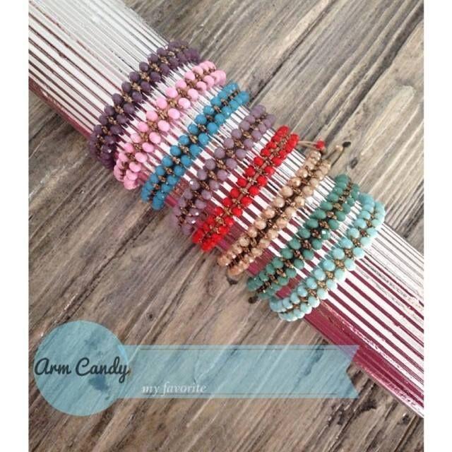 #Arm #Candy: νέα, κομψά #bracelets σε πολλά χρώματα!! #Didadi