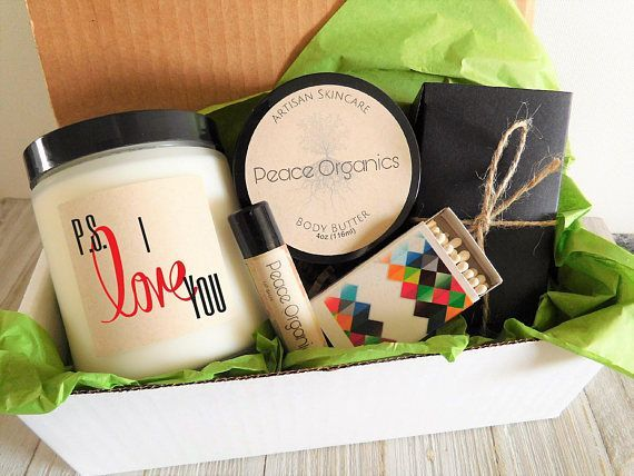 I Love You Gift Candle Set Mothers Day For Mom Birthday Pamper Box Unique Her Giftboxes