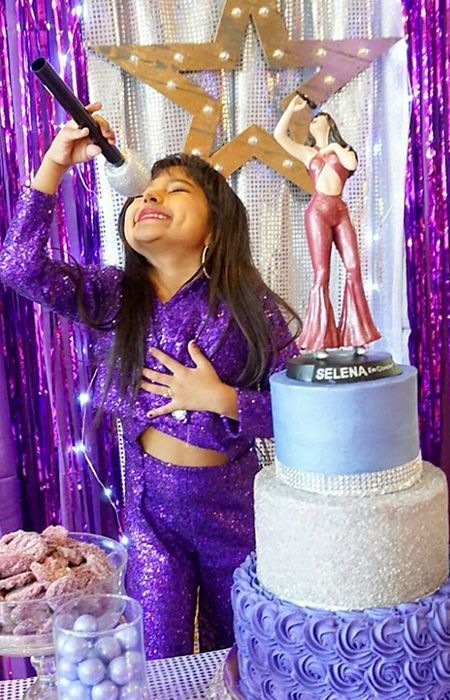 "Ayvah Vega just had the best birthday party of her life — and she's only six years old. According to her parents, Alex and Belinda, the little Texas native has been a huge Selena Quintanilla fan since the first time she saw the ""Queen of Tejano"" perform in a YouTube video. That's why for her sixth birthday party her parents went all out, dropping at least $500 on her Bidi Bidi Birthday Bash."