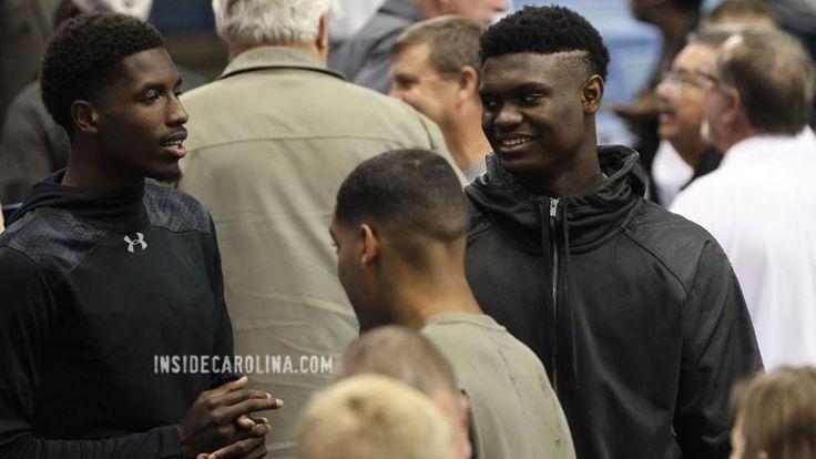 Recruits attend the Duke/Carolina Game.