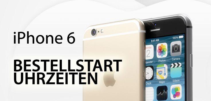 Wann: Uhrzeit iPhone 6 Verkaufsstart! - https://apfeleimer.de/2014/09/wann-bestellen-uhrzeit-zum-iphone-6-verkaufsstart - Wann geht die iPhone 6 Bestellung los? Uhrzeit für iPhone 6 Bestellungen? Uns erreichen aktuell zahlreiche Emails, iMessages und Nachrichten über die sozialen Netzwerke mit nur einem einzigen Inhalt: Wann und um wieviel Uhr kann man das neue iPhone 6 vorbestellen bzw. bestellen. Fest steht zur a...