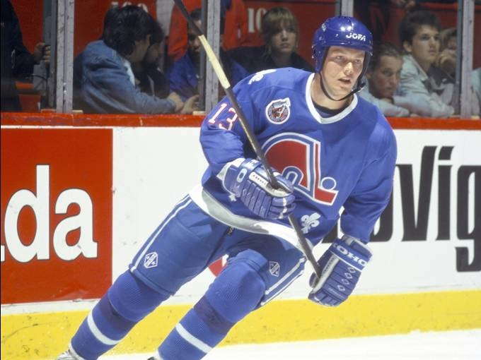 Sweden's Mats Sundin became the first European to go first overall in the draft, taken by the Quebec Nordiques in 1989. Denis Brodeur, NHLI via Getty Images