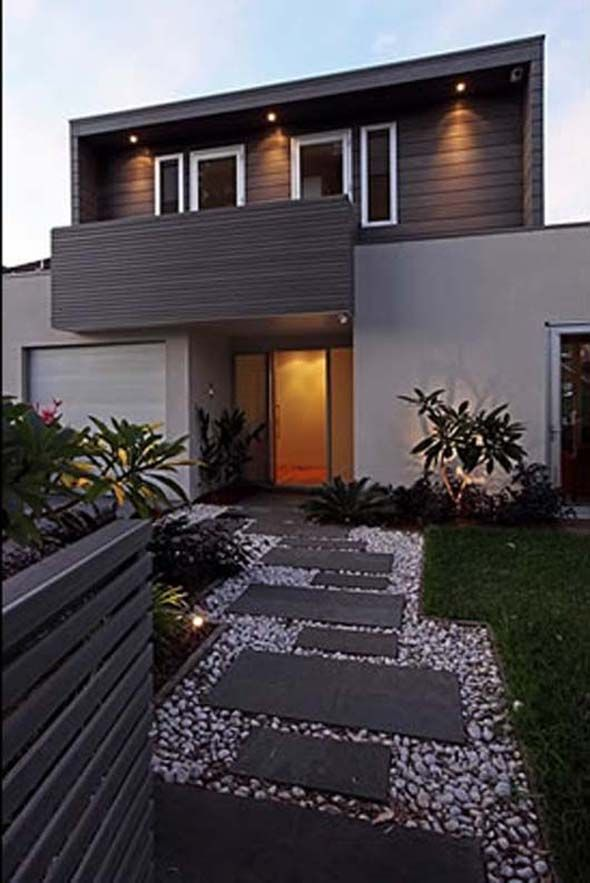 17 best ideas about modern front yard on pinterest for Home lawn design