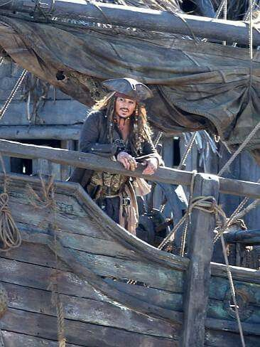 Captain Jack Sparrow.