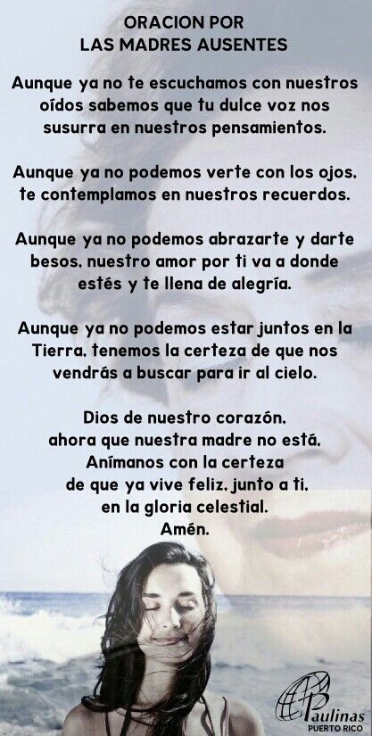 Oracion para mi madre