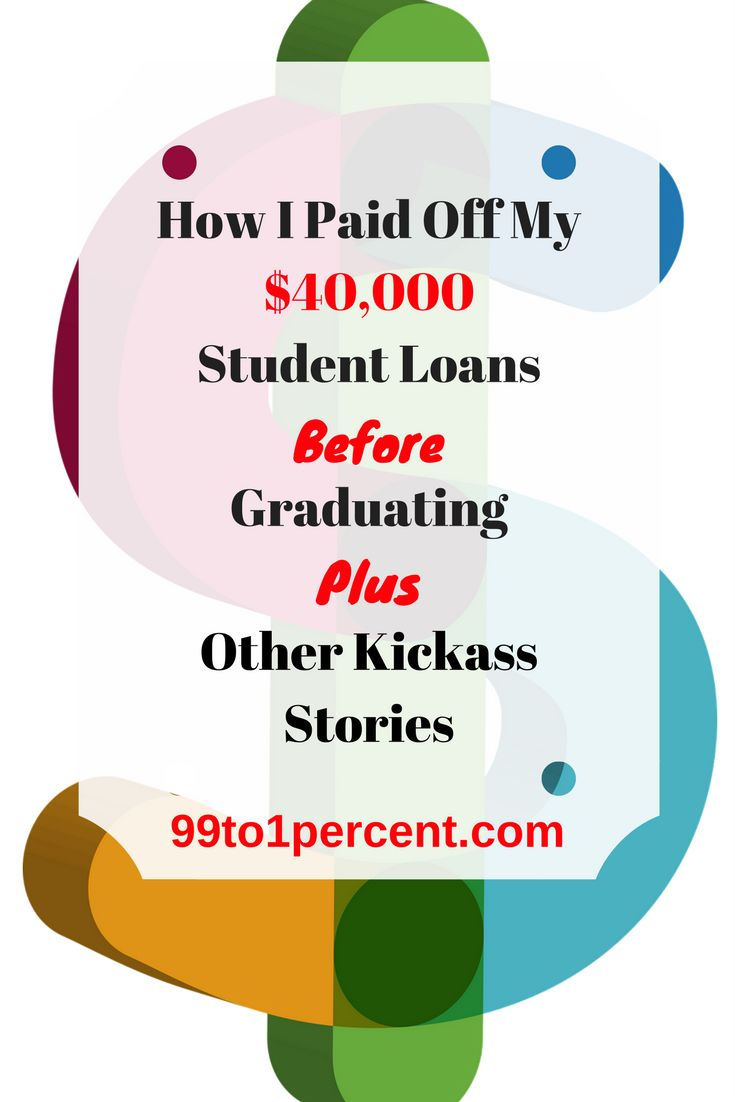 How I Paid Off My $40,000 Student Loans Before Graduating Plus Other Kickass Student Debt Payoff Stories From Other Money Nerds.