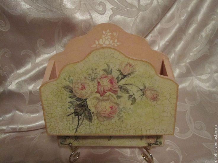 Купить Вешалка-полочка Розы - вешалка для кухни, Вешалка для полотенец, кухня, уютная кухня