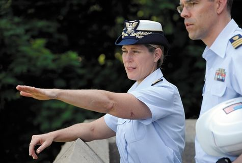 Sandra L. Stosz: b. 1960; Sandra L. Stosz is a United States Coast Guard rear admiral who was chosen by the Commandant of the United States Coast Guard ADM Robert J. Papp to become the Superintendent of United States Coast Guard Academy in 2011. As such, she is the first woman to lead a United States military service academy. At the time of her appointment to head the Coast Guard Academy, she was the Coast Guard's Director of Reserve and Leadership.