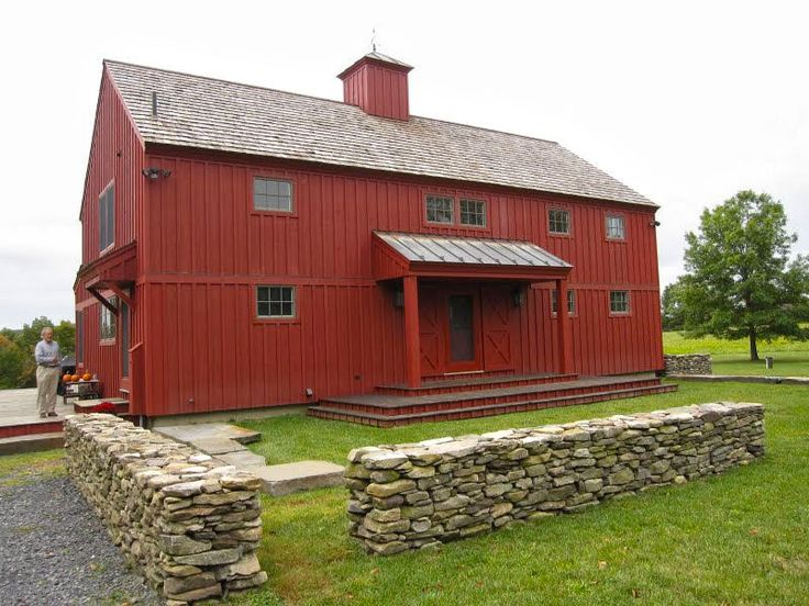 Barn House Exterior With Front Porch Barn Love Pinterest