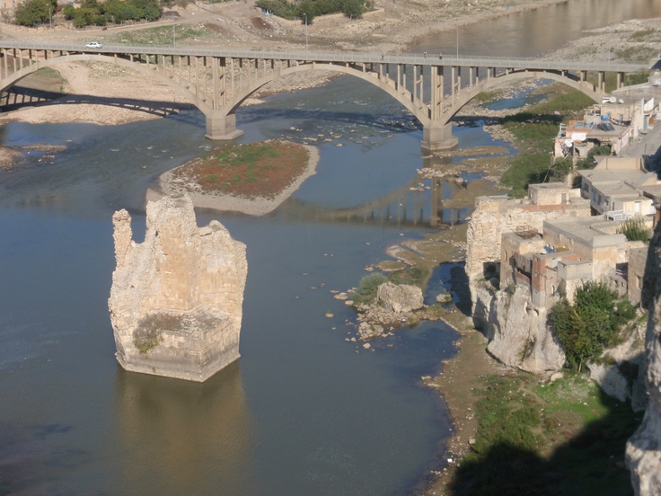 View of the Tigris