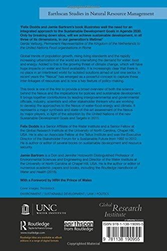 The Water, Food, Energy and Climate Nexus: Challenges and an agenda for action (Earthscan Studies in Natural Resource Management)