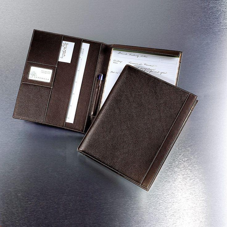 bomber jacket tyler folio leather portfolio leather pad holder levenger