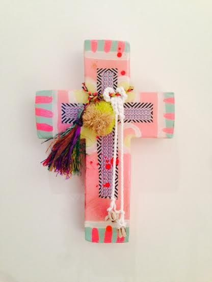 Jai Vasicek Cloudy Pink Medium Cross