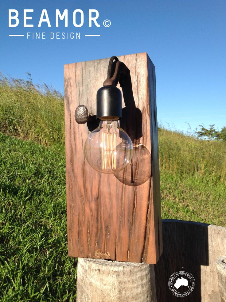 Bracket Sleeper Lamp 001 by BeamorFineDesign on Etsy