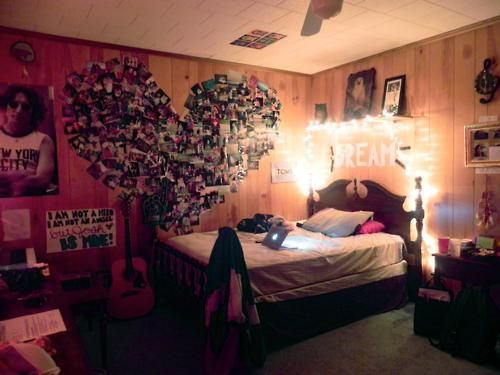 17 best images about tumblr rooms on pinterest string for Room design hipster