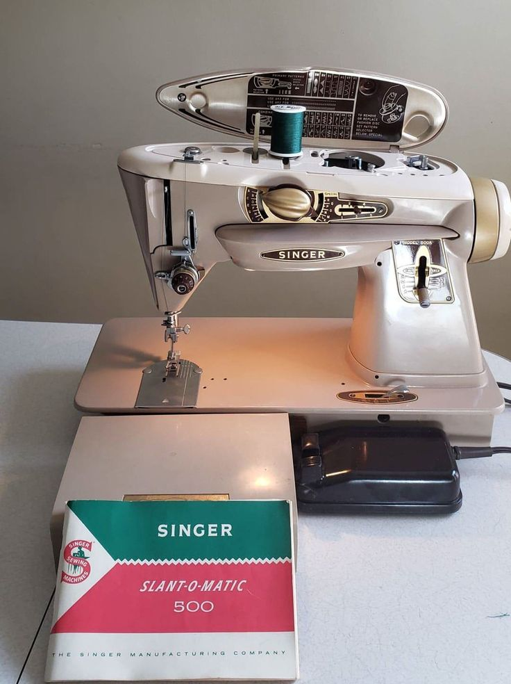 Singer Rocketeer 500A   Sewing leather, Singer sewing ...