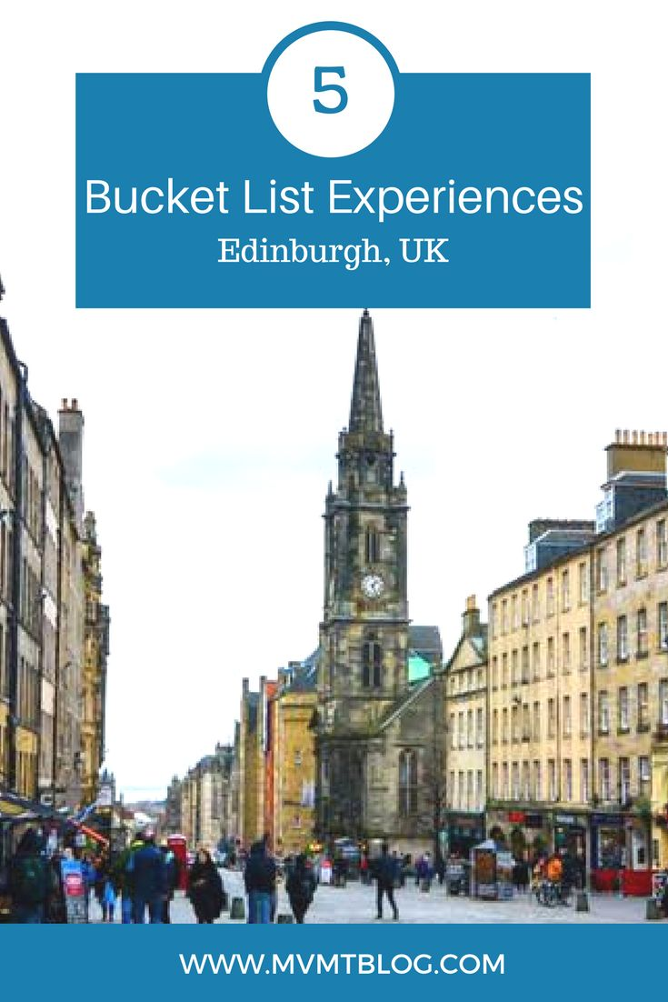 Can't decide what to do with only 24 hours in Edinburgh, UK? Here are 5 things you won't want to miss, including a Scotch whisky tour, underground ghost tour, Arthur's Seat, and the Edinburgh Castle! Plus, transportation + accommodation tips included!