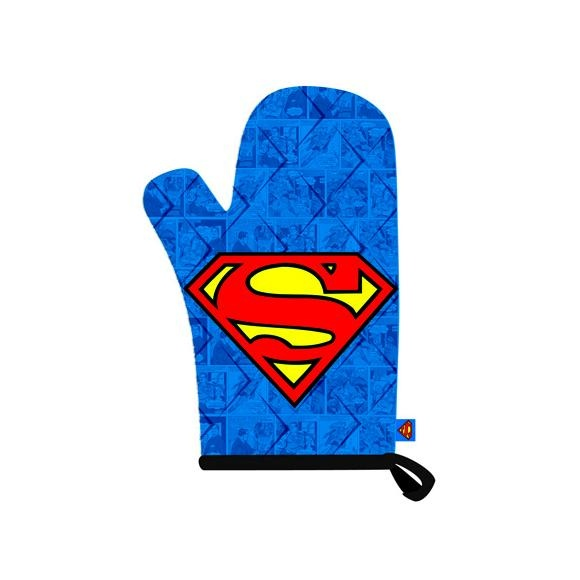 Delicieux Superman Oven Mitt