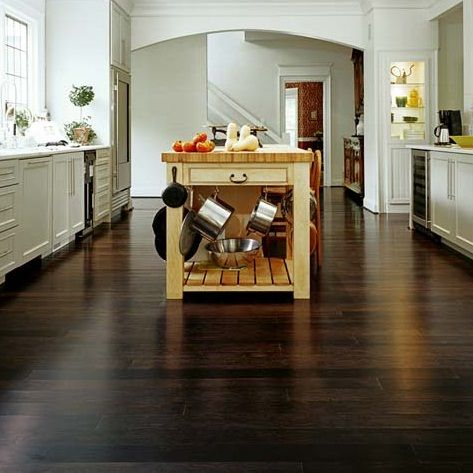 Wellmade Engineered Strand Woven Bamboo floors in Walnut finish.