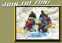 Clear Creek rafting trips a half hour outside of Denver for beginners - good prices too