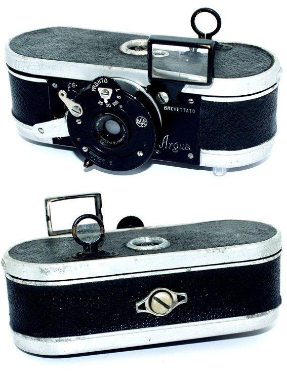 Argus Morsolin, 1921 35mm camera