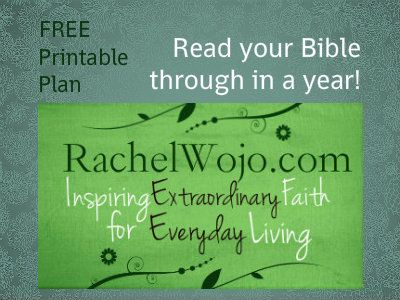 FREE Printable Bible reading plan: Read your Bible through in 365 days. Would love to have you join the challenge.
