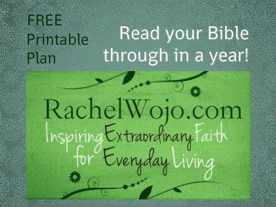 free Bible reading plan