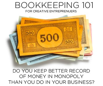Book Keeping 101 for Creative Entrepreneurs by Go4ProPhotos