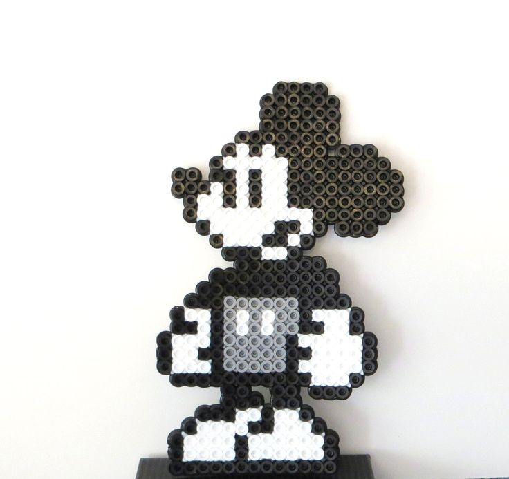 Mickey the Perler bead.