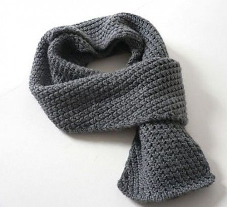 Cool stitch!!!!  Mens Scarf Knitting Pattern Beginner Download Page – Best Knitting ...