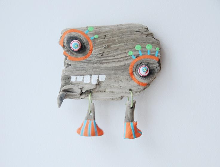 Treibholz Monster HIROKI  (auf deutsch: grosser Baum) http://jennifer-vosteen.de/