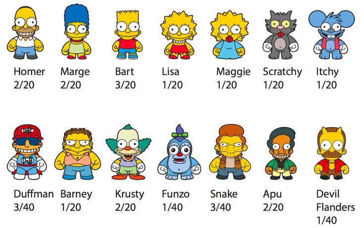 Marge Simpson Kidrobot The Simpsons Enamel Pin Series 1